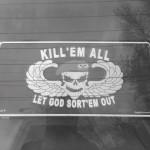 Morbid bumper sticker