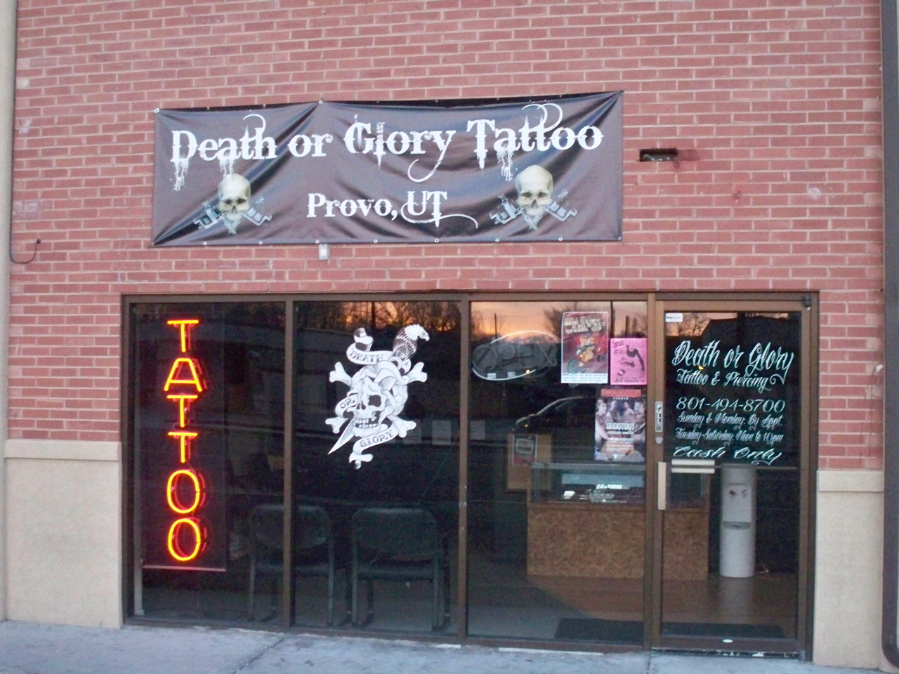 darker side of provo provo tattoo shop gospel in utah